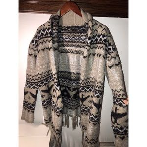 Press Fringe Sweater